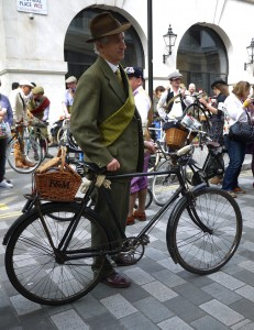 The Tweed Run London 17 May 2014