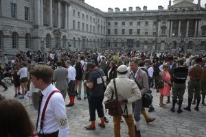 Tweed Riders Gather