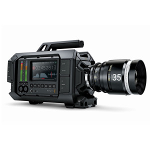 Today's 4K cameras like the Blackmagic URSA fitted with a Canon 24-70 L lens, produce excessively sharp, clinical-looking images. A proper finishing filter like the Tiffen Black Satin is imperative to glean the best possible performance from such cameras fitted with very high resolution CMOS sensors.